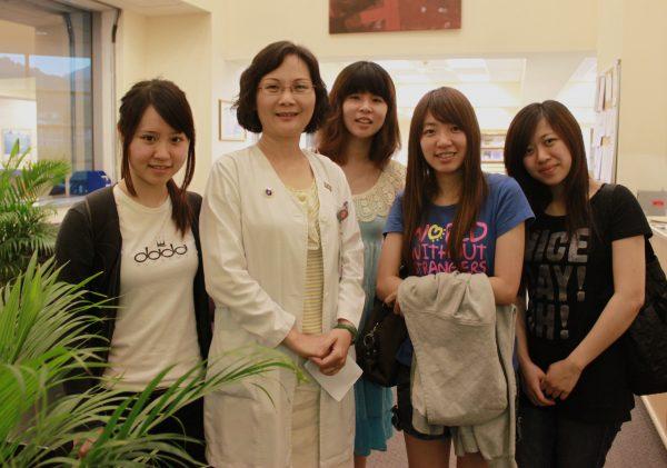 20110610北醫訪護理部許麗珠主任-朱玉芬攝-600x421