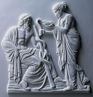 代表醫學的「蛇杖」是由【聖經】而來。《舊約•民數記》:摩西率領以色列民眾離開埃及前往應許之地——迦南。途中,遇到了毒蛇咬他們。「於是,摩西為百姓禱告。耶和華對摩西說:『你製造一條青銅蛇,掛在杆子上,凡被咬的,一望這蛇,就必得活。』摩西便製造一條青銅蛇,掛在杆子上,凡被咬的,一望這青銅蛇,就活了。