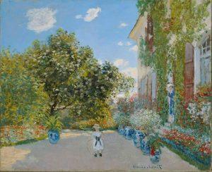 P10-亞嘉杜的房子-Claude Monet