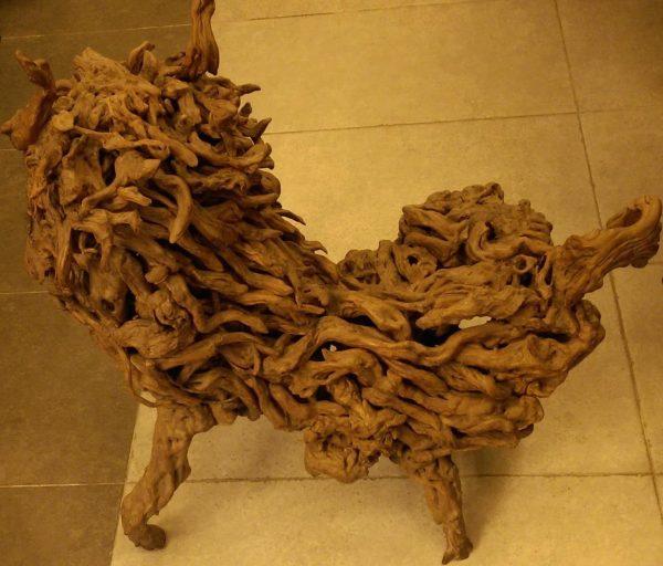 P14-杜鵑花盤根藝術品-林至常攝