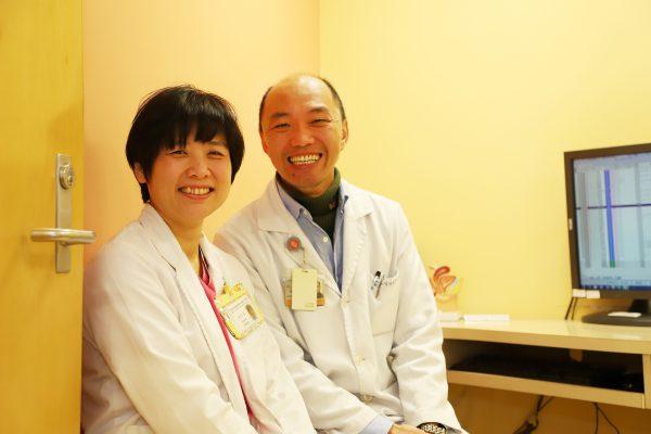 婦科洪啓峰醫師與賴靖葳專科護理師
