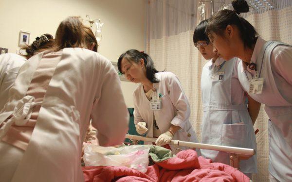 20110707五南趙國賢阿長實習護理教學-朱玉芬攝